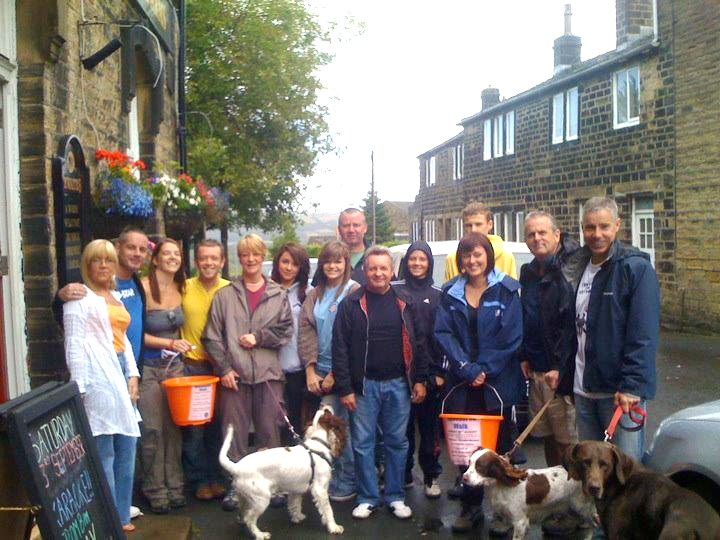 Sponsored walk last Sunday – they avoided the showers but ...
